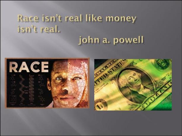 race isn't real